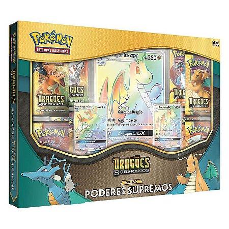 Pokémon TCG: Box Coleção Poderes Supremos SM7.5 Dragões Soberanos