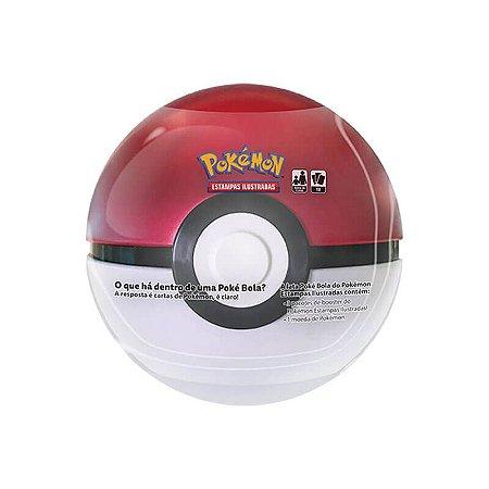 Pokémon TCG: Lata Colecionável Poké Bola (Poké Ball)