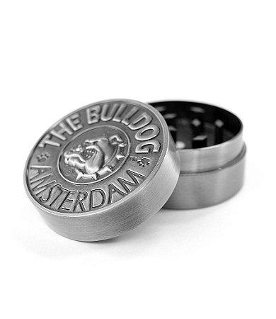 Dichavador Triturador em Metal 2 Partes Silver The Bulldog