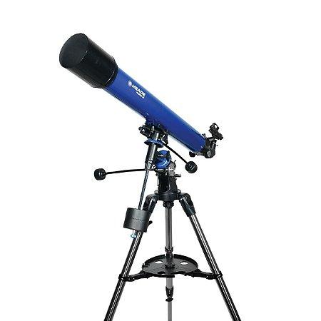 Telescópio Refractor Polaris 90mm German Equatorial Meade