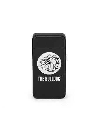 Isqueiro de Plasma Preto Mate The Bulldog