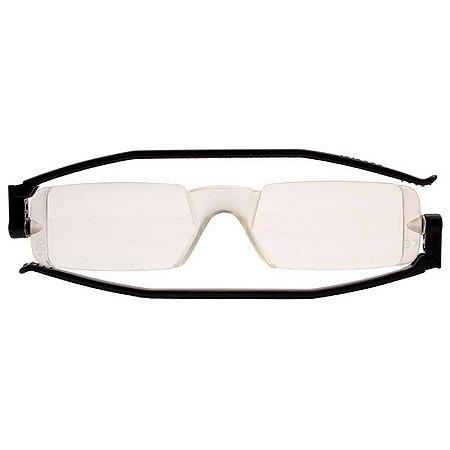 Óculos de Leitura Compact1 Nannini Preto Sólido