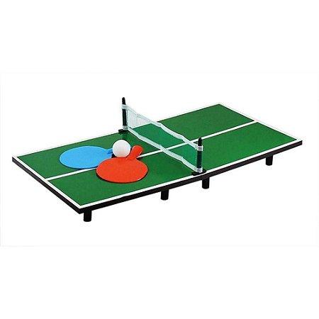 Mini Mesa De Ping Pong 30x60 Western C/ 2 Raquetes TT-60