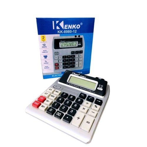 Calculadora de Mesa Escritório Digital Kenko KK 8980-B12