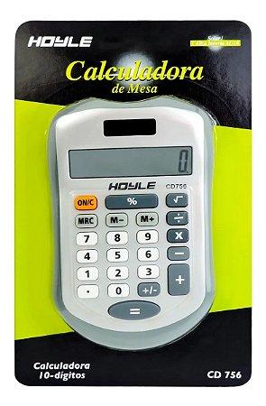 Mini Calculadora De Mesa Grampo Hoyle 08 Dígitos CD-112