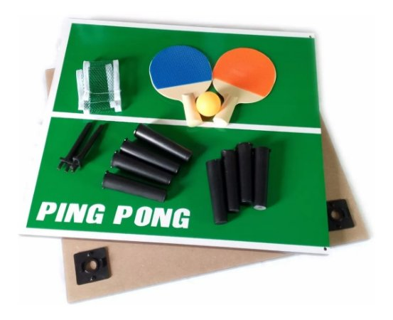 Mesa De Ping Pong Jogo Tenis de Mesa MAX 69282-34 Completo