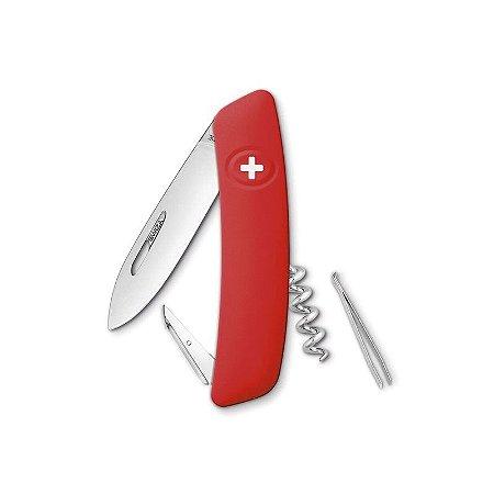 Canivete Suíço D01 Vermelho Swiza com Bag Premium