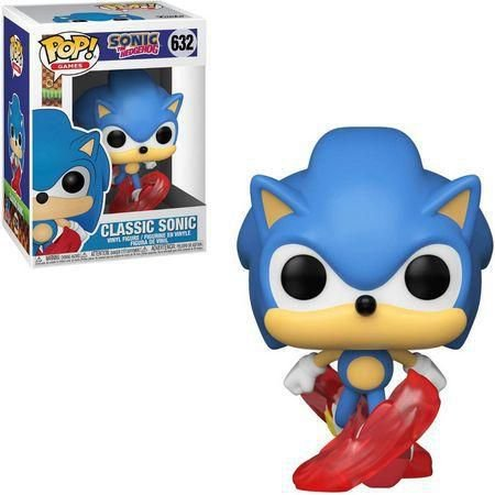 Classic Sonic 632 - Sonic The Hedgehog - Funko Pop