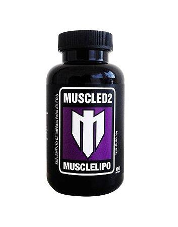 MUSCLELIPO CAPSULAS - Cafeina Anidra e Polidextrose. ULTRA FORTE.