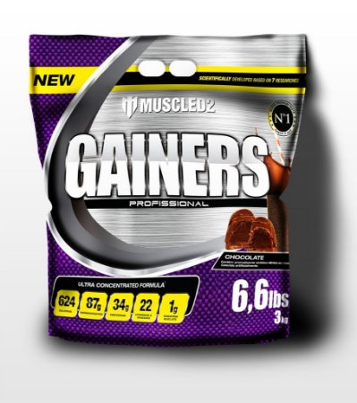GAINERS MUSCLE - REFIL 3kg