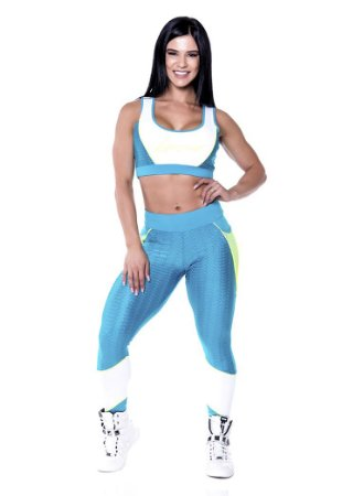 Conjunto Fitness Roupas para Academia 5014