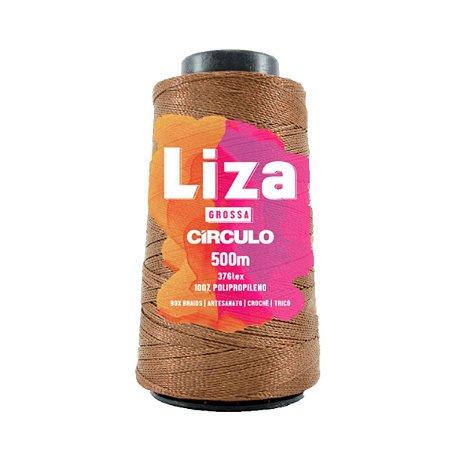 Liza Grossa Circulo 500m Castanho Claro 7195 Box Braids