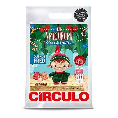 Kit Amigurumi Coleção Natal Circulo Duende Fred
