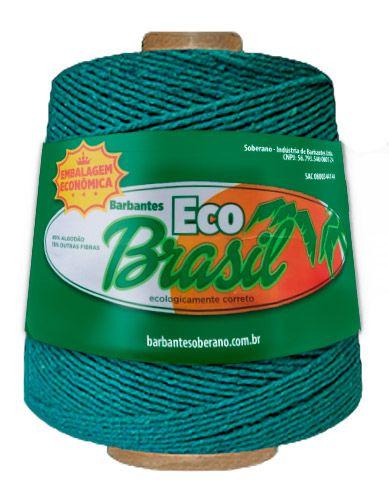 Barbante Eco Brasil Soberano 600g / 512 metros Cor Verde Bandeira