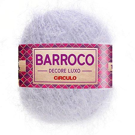 Barbante Barroco Decore Luxo Circulo 280g Cor Branco 100
