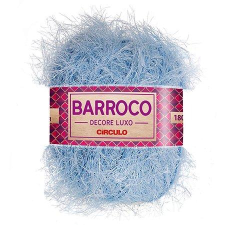 Barbante Barroco Decore Luxo Circulo 280g Cor Azul Candy 2012