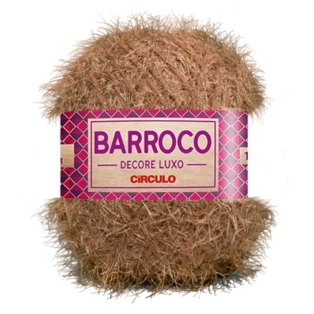 Barbante Barroco Decore Luxo Circulo 280g Cor Castanha 7896