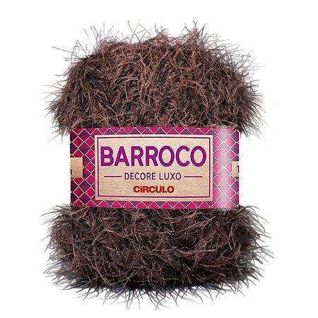 Barbante Barroco Decore Luxo Circulo 280g Cor Chocolate 7996