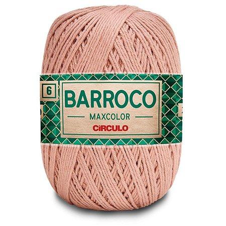 Barbante Barroco Maxcolor 400g Circulo N6 Cor Caqui 7727