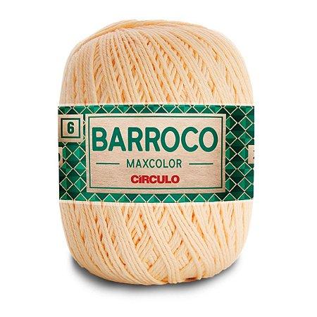 Barbante Barroco Maxcolor 400g Circulo N6 Cor Amarelo Candy 1114