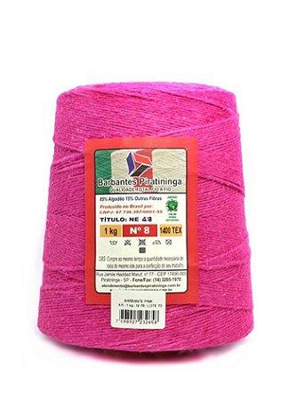 Barbante 1Kg Número 8 Pink