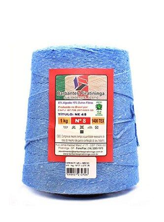 Barbante 1Kg Número 8 Azul Indigo