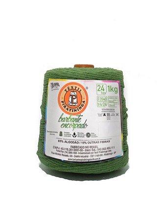 Barbante 1Kg Número 24 Encorpado Verde Abacate