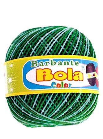 Barbante 350m Bola Color Bandeira/Verde Bebê