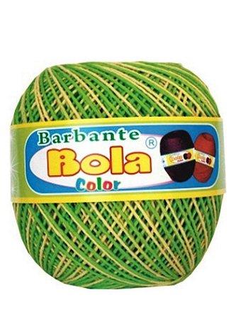 Barbante 350m Bola Color Abacate/Amarelo Bebê