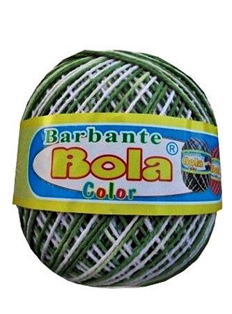 Barbante 350m Bola Color Oliva/Branco