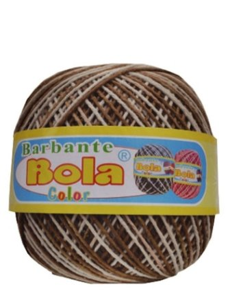 Barbante 350m Bola Color Café/Marrom