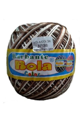 Barbante 350m Bola Color Telha/Ferrugem