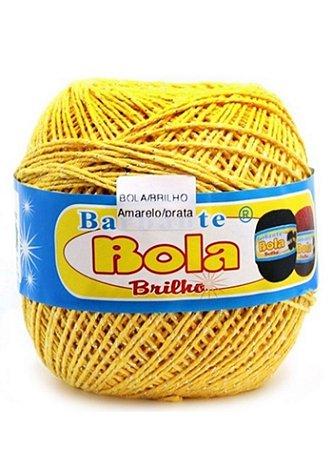 Barbante 350m Bola Color Brilho Amarelo/Ouro