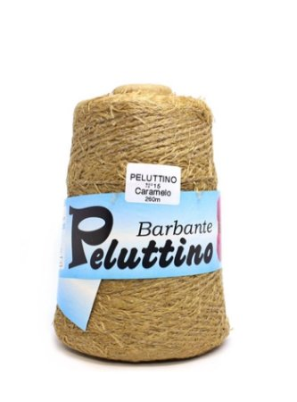 Barbante Felpudo Peluttino Numero 6 Caramelo