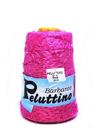 Barbante Felpudo Peluttino Numero 6 Pink