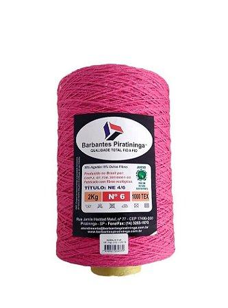 Barbante 2Kg Número 6 Pink