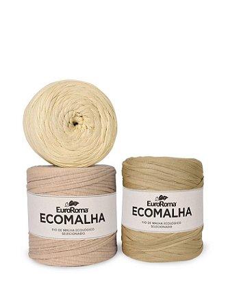 Fio de Malha EcoMalha 140m Tons de Bege