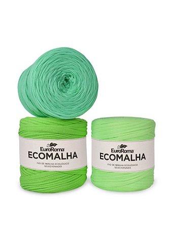 Fio de Malha EcoMalha 140m Tons de Verde Claro