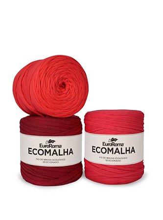 Fio de Malha EcoMalha 140m Tons de Vermelho