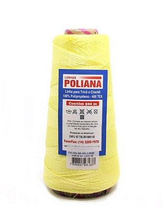 Linha Poliana 500m - Amarelo Bebê