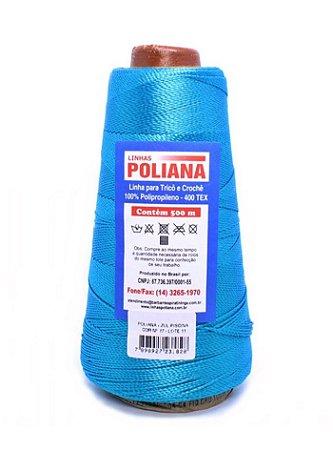 Linha Poliana 500m - Azul Indigo