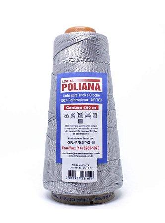 Linha Poliana 500m - Cinza