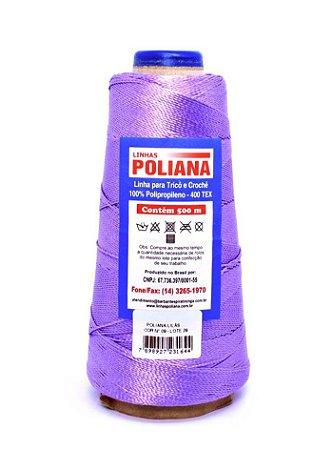 Linha Poliana 500m - Lilás Forte