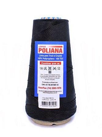 Linha Poliana 500m - Preto