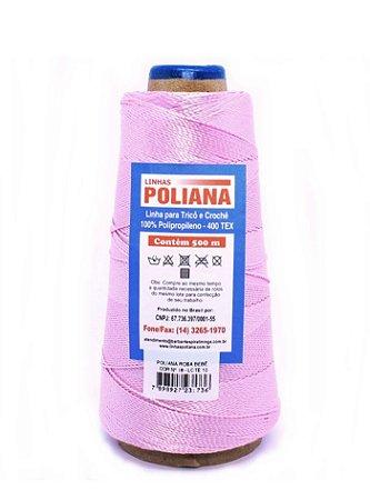 Linha Poliana 500m - Rosa Bebê