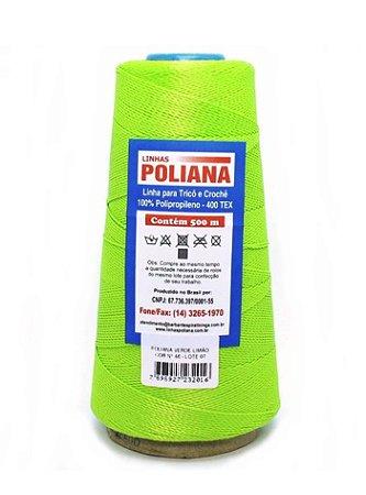 Linha Poliana 500m - Verde Limão