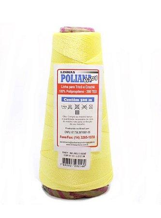 Linha Poliana Baby 500m - Amarelo Bebê