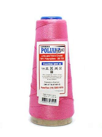Linha Poliana Baby 500m - Rosa Forte