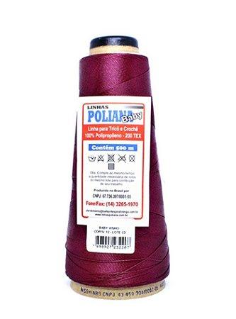 Linha Poliana Baby 500m - Vinho