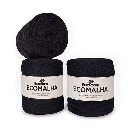 Kit Fio de Malha EcoMalha 80m Preto com 5 unidades